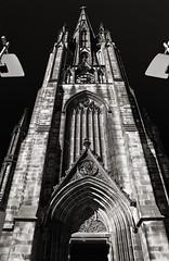 The Hub (albireo 2006) Tags: thehub edinburgh scotland uk blackwhitephotos blackandwhite blackandwhitephotos blackwhite bw spire steeple