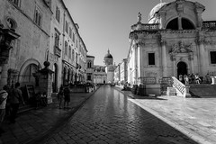 The Old Town of Dubrovnik - Croatia (danielschulz3) Tags: blackandwhite bw holiday love canon photo urlaub croatia sigma loveit oldtown dubrovnik hrvatska kroatien sigma20mm canon6d danielsphotography