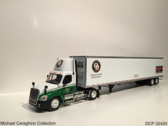 Diecast replica of Old Dominion Freight Line's Freightliner Cascadia , DCP 32420 (Michael Cereghino (Avsfan118)) Tags: old dominion freight lines freightlines odfl od diecast die cast promotions promotion replica toy model 164 scale truck semi freightliner cascadia dcp 32420