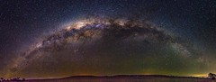 Milky Way Rainbow - Felton - Queensland - Australia (andrew.walker28) Tags: milky way rainbow galaxy galactic centre center core stars starlight night long exposure landscape astrophotography queensland australia
