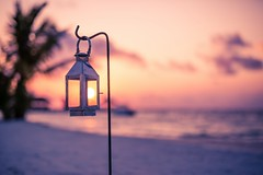 Rainbow Lantern (icemanphotos) Tags: lantern seascape solitude holiday travel sky loungers