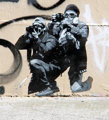 Sunday 21st August (janie.d (urban burbler)) Tags: streetphotography streetarturbanartgraffitirgor innerwest dirty wall graffporn paint bomb paste art artists camo newtown