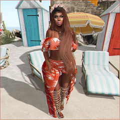 Slay Of The Day 586 (Ayriane M.) Tags: secondlife sl new lotd littlebones indented treschic reign overlow