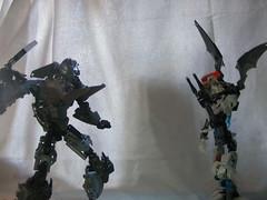 The Adversary 10 (quartzroolz) Tags: quartz roolz moc big burly man bionicle robot toa titan android bustersword guns skull spider mask god thats alot over design