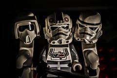 Come on guys! Let's make a selfie! (Ignacio M. Jimnez) Tags: stormtrooper scouttrooper atatdriver lego selfie ignaciomjimnez