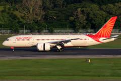 Air India | Boeing 787-8 | VT-ANK | Singapore Changi (Dennis HKG) Tags: airindia aic ai boeing 787 7878 boeing787 boeing7878 dreamliner aircraft airplane airport plane planespotting singapore changi wsss sin vtank staralliance canon 7d 100400