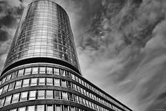Hamburg Hafencity 2 b&w (rainerneumann831) Tags: hamburg hafencity architektur abstrakt linien hochhaus blackwhite