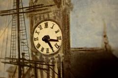Big Ben (pburka) Tags: clock hands working painting bigben london canvas art kitsch elvis presley graceland