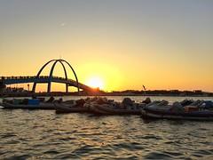 - (ChanXe) Tags: bridge adventure explore light life world travel scenery scene landscape seseascape port sunlight sun sunset taiwan