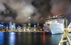 - Hong Kong, Ocean Terminal (urbaguilera) Tags:     hongkong city ocean terminal international finance centre cruise boat night scene outdoors urban ladnscape victoria harbor clouds summer urbaguilera daniel aguilera nikon tokina wide angle 1116mm sea reflections density architecture financial district kowloon long exposure central star ferry pier hong kong