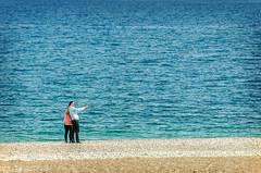 Selfie (Melissa Maples) Tags: blue sea beach water turkey nikon asia mediterranean trkiye antalya nikkor vr afs  selfie 18200mm  f3556g  18200mmf3556g d5100 konyaaltbeach