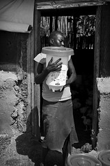 Carrying the Feed B&W (William J H Leonard) Tags: africa travel portrait blackandwhite bw travelling monochrome portraits women day farmers outdoor southsudan farm african candid sunny portraiture farmer travelphotography juba candidportraiture southsudanese centralequitoria republicofsouthsudan centralequitoriastate