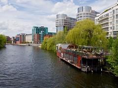 Spree am Holsteiner Ufer - Alt Moabit/Berlin (mikehaui60) Tags: berlin pen river germany spree epm2 olympuspenepm2