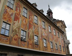 (Gerlinde Hofmann) Tags: germany bavaria franconia town bamberg painting wall people oldcityhall oldtownhall