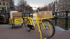 Praxis-Fr8-trailer-oski (@WorkCycles) Tags: aanhanger bicycle bike dit doehetzelf fiets hardware karretje massiverack praxis store trailer transportfiets winkel workcycles