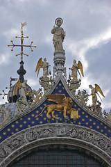 Pax tibi Marce, evangelista meus (v923z) Tags: venice italy cross sanmarco piazzasanmarco evangelist wingedlion saintmark