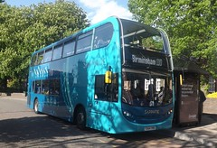Arriva Sapphire YX64VMD 4409 in Tamworth, 12/05/2015. (MKT Transport Photography) Tags: alexander dennis midlands vmd arriva adl yx64