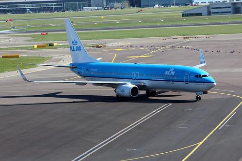 PH-BXM Boeing 737-8K2/W KLM Royal Dutch Airlines