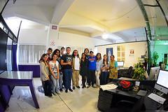 Visita al Periodico la Jornada, Mas Educacion, Viajes Estudiantiles