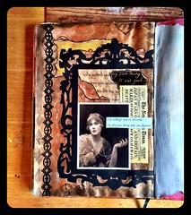 IMG_3202 (emilywalker500) Tags: 1920s collage vintage photo paint mixedmedia ephemera vintagephoto diecut vintageephemera 1920sinspired diecutframe
