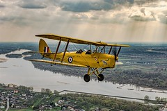 Tiger Moth (andrzejpor) Tags: art clouds airplane outdoor aircraft aviation air w wwii jet lot chipmunk vehicle tigermoth airliner jumbo jetliner samoloty a2a avgeek anawesomeshot cloudsporn aviationphoto aviationairplaneaircraft