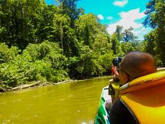 DSCN0541 (vhenryz) Tags: park camera trip trees sky cloud nature water clouds forest river boat nikon tour reserve tourist p900 national mangrove jungle vehicle brunei ulu temburong