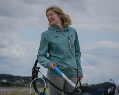 At the windsurfing race (frankmh) Tags: people skne sweden outdoor windsurfing viken