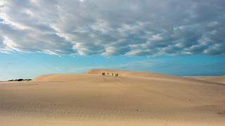 The dunes at (Grande) Lençóis Maranhenses. Maranhão, Brasil (see related photos in my Brazil Album)