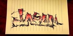 (timetomakethepasta) Tags: jason art design style marker black red permanent paper drawing sketch mind new york