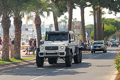 Just Chill. (Florian Joly Photography) Tags: summer sun money hot sexy cars 6x6 girl wow photography amazing cannes arab florian luxury amg supercars brabus croisette 2016 joly classeg g6x6