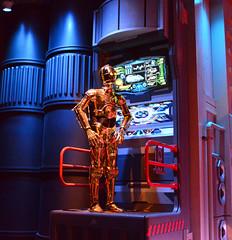 C-3PO Disney Hollywood Studios Star Tours (Timfy Mills) Tags: star disney hollywood wars studios tours c3po nikon1835mm nikond610