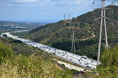 Somewhere Over the 210 (Pedestrian Photographer) Tags: california beer lines los power angeles walk may freeway crawl monthly tujunga ribbet 210 sunland 2016 dsc2665 dsc2665b