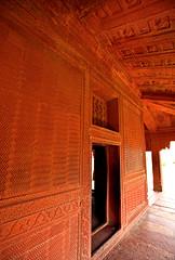 Fatehpur Sikri Palace 135 (David OMalley) Tags: india muslim islam agra palace mosque pilgrimage akbar masjid allah islamic pradesh fatehpur sikri muhammed uttar jama darwaza buland sikari vijaypur
