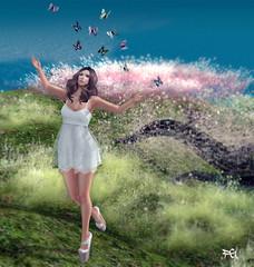 ~109~ Elusive Butterfly (αиα ¢αραℓιиι) Tags: fashion secondlife ikon uber maitreya magika petitemort eveadam itsanewdawn phedora zibska wowskins cosmopolitanevent {zoz} shisposes womenonlyhunt
