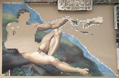 Michelangelo: The Creation of Adam - progress #6 (Danijel Legin) Tags: adam puzzle jigsaw michelangelo ravensburger 12000
