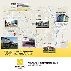 Nucleus Heyday Villas and Apartments located near to CSEZ and Info Park, Kakkanad offers you the perfect value for money.  Live the luxury life!  Visit us on www.nucleusproperties.in  #Kerala #Kochi #India #Location #Architecture #Home #Construction #City (nucleusproperties) Tags: life city india building home nature beautiful beauty architecture design living construction realestate view apartment interior gorgeous lifestyle style atmosphere kerala location villa environment elegant exquisite comfort luxury kochi elegance