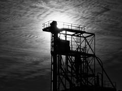 Dubbo (Old Flour Mill) (bigboysdad) Tags: blackandwhite bw monochrome silhouette au australia olympus monotone newsouthwales dubbo 75mm m43 ep5