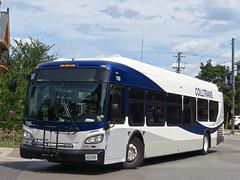 Collingwood Public Transit 705 (YT | transport photography) Tags: new bus public flyer collingwood transit xd40 colltrans xcelsior