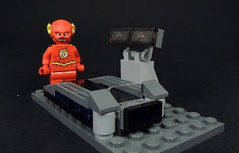 The Cosmic Treadmill (MrKjito) Tags: travel speed comics dc comic allen force lego time flash machine barry minifig universe dimension cosmic treadmill moc