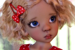 A new look for Layla (dambuster01) Tags: kayewiggs tanned layla msd bjd resin jointed doll