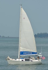 S/V Encore (jelpics) Tags: encore svencore mast sail sailboat sailingvessel yacht boat boston bostonharbor bostonma harbor massachusetts ocean port sea ship vessel
