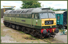 D1661 North Star (rhugo) Tags: trains locomotives railways westsomersetrailway d1661 northstar class47
