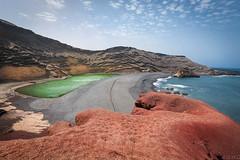 El golfo (Gnter Glasauer) Tags: elgolfo felsen lanzarote see spanien spain outdoor algae lagoon