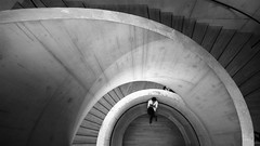 a nice view (UnprobableView) Tags: manuelmiragodinho unprobableview london londres tatemodern tatebritain tate herzoganddemeuron herzogdemeuron architects architecture arquitecto escada escaleras staircase f son