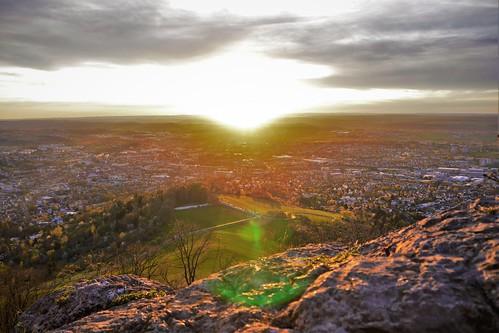 Sunset Achalm, Reutlingen