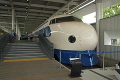 DSC03824 (Alexander Morley) Tags: japanese railway society japan trains jr kyoto museum umekoji steam loco zero series shinkansen west