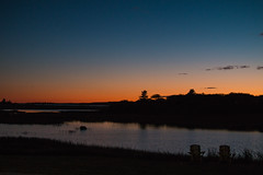 End of Really Great Day (langdon10) Tags: atlanticocean canada canon70d clearskies nighttime novascotia riverport shoreline sunset ocean
