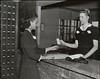 Central Nurses' Residence Lobby, Welfare Island, 1939 (CityOfDave) Tags: nyc newyorkcity newyork mailboxes lobby rooseveltisland 1939 19391940 welfareisland centralnursesresidence