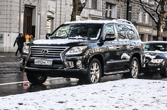 Russia (Moscow) - Lexus LX (PrincepsLS) Tags: berlin germany russia moscow plate license russian 777 spotting lexus lx
