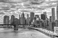 Manhattan Skyline and Brooklyn Bridge (TXA Photography) Tags: nyc newyorkcity usa ny us downtown unitedstates brooklynbridge manhattanbridge manhattanskyline hdr newyorkarchitecture
